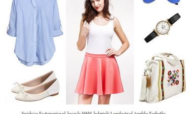 Rozkloszowane spódnice na lato 2014
