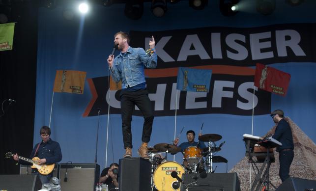 Kaiser Chiefs na Glastonbury Festival 2014