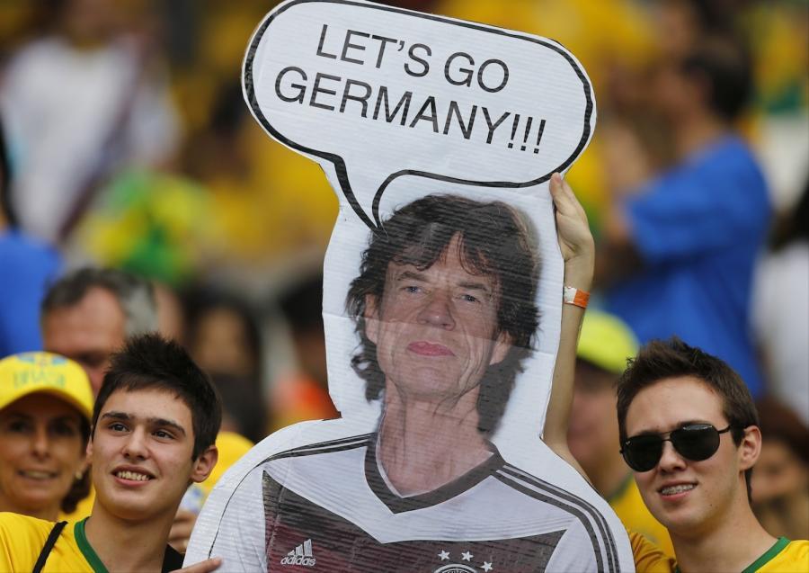 Brazylijcy znaleźli winnego klęski. To Mick Jagger