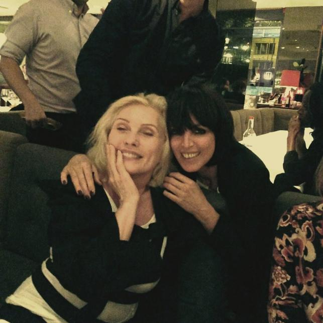 Nena i Debbie Harry z grupy Blondie
