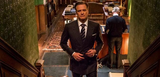 "Colin Firth w filmie ""Kingsman: Tajne służby"""
