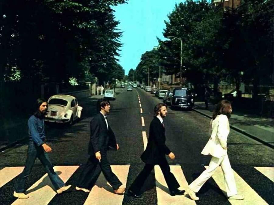 Okładka Abbey Road