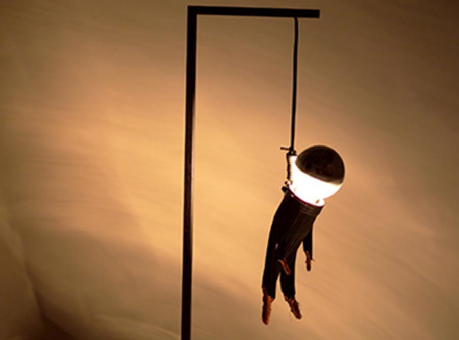 Najbardziej ponura lampa, jaką dziś zobaczysz