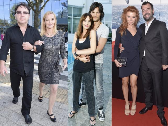 Monika i Zbigniew Zamachowscy, Agnieszka Włodarczyk i Mikołaj Krwaczyk oraz Agata Załęcka i Tadeusz Głażewski