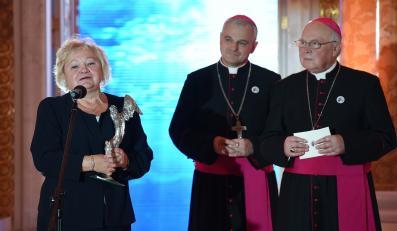 Arcybiskup Tadeusz Gocłowski i biskup Marek Mendyk