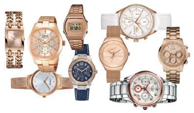 Zegarki w kolorze różowego złota