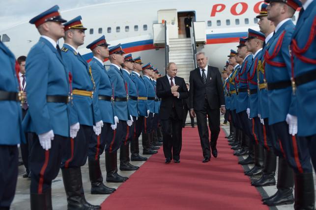 Władimir Putin przyleciał do Serbii