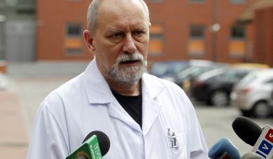 Dr Rafał Ebisz z Centurm Leczenia Oparzeń w Siemianowicach Śląskich