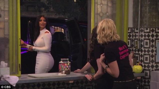 Kim Kardashian w serialu \