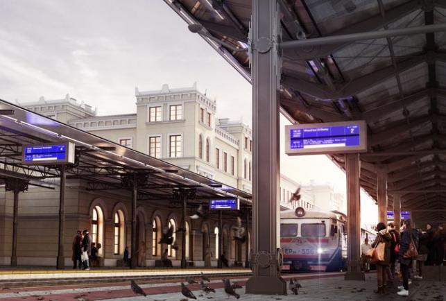 Dworzec w Bydgoszczy, wizualizacja