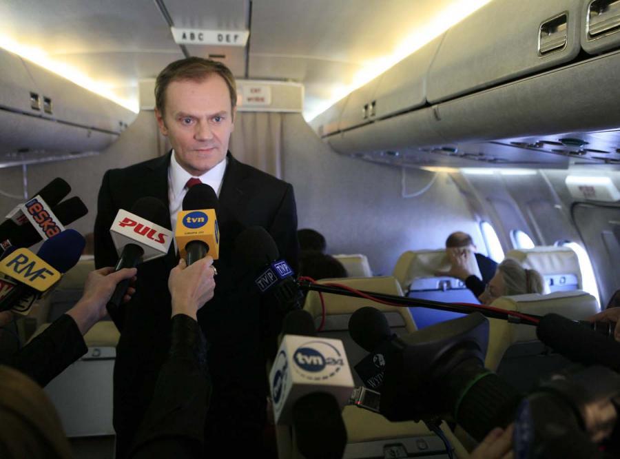 Kancelaria premiera: Donald Tusk tylko raz leciał rządowym samolotem do domu w Trójmieście