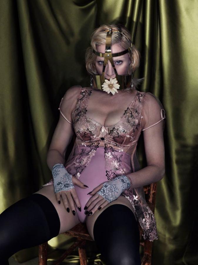 "Madonna w magazynie ""Interview"" (foto: Mert & Marcus)"