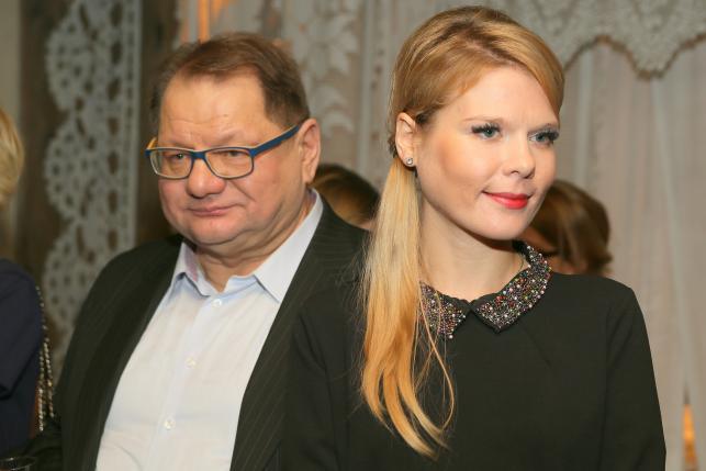 Ryszard Kalisz i Dominika Lis