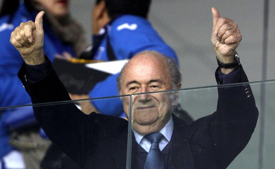 Szef FIFA Sepp Blatter
