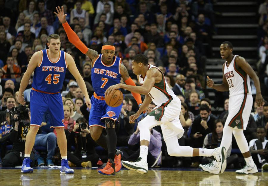 New York Knicks - Milwaukee Bucks