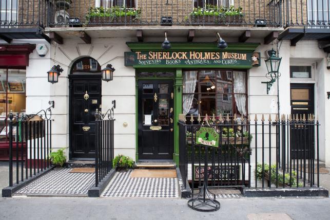 Londyn śladem Sherlocka Holmesa