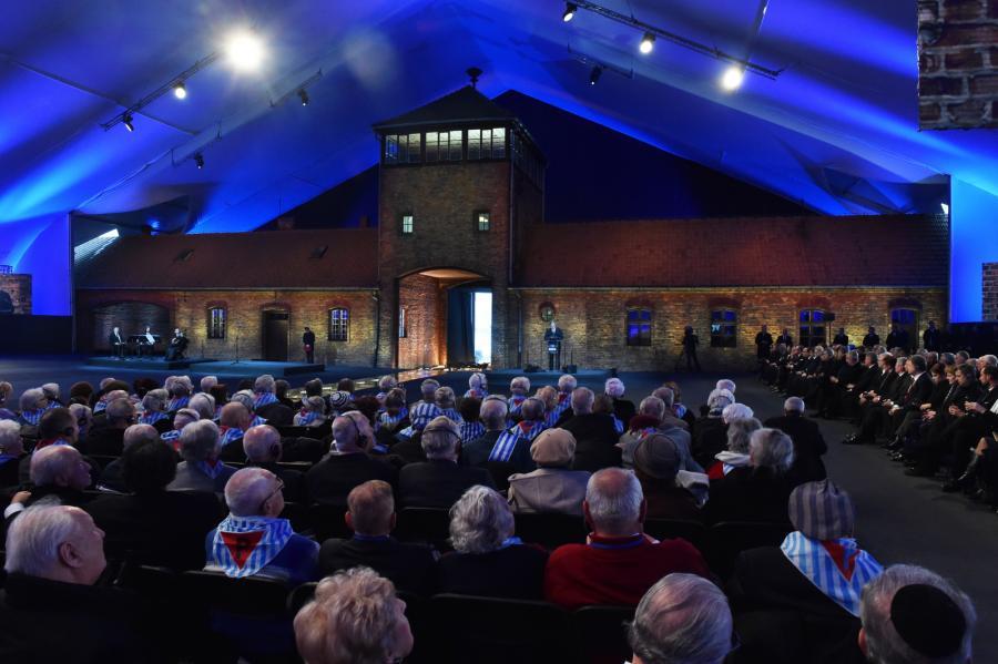 Uroczystości rocznicowe w KL Auschwitz-Birkenau