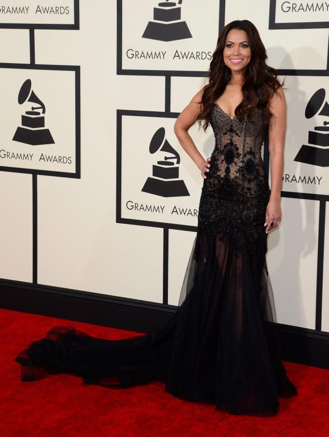Najbardziej rozebrane gwiazdy na gali Grammy 2015: Tracey Edmonds