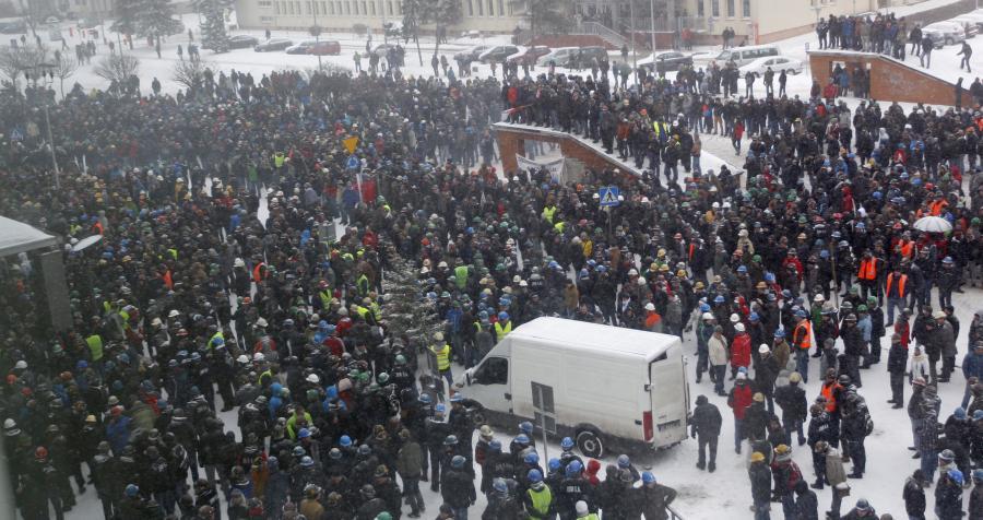 Strajk w Jastrzębiu