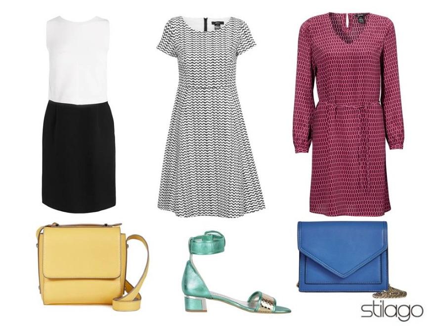 Ubrania w stylu retro na sezon wiosna/lato 2015