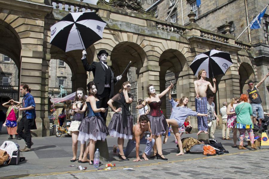 Festiwal teatralny w Edynburgu