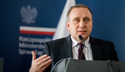 Szef MSZ Grzegorz Schetyna