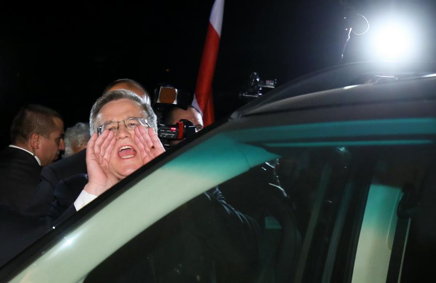 Bronisław Komorowski po debacie