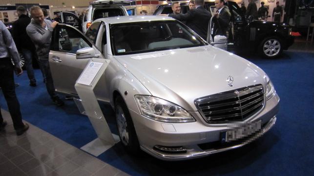 Samochód BOR - Mercedes S 600 Guard