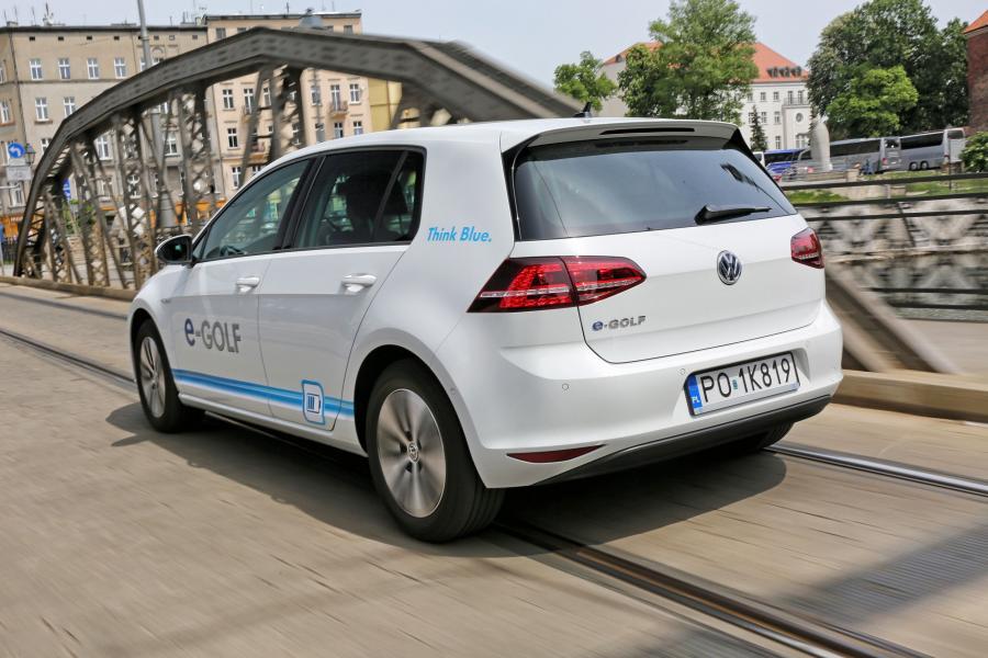 Volkswagen e-golf w Poznaniu