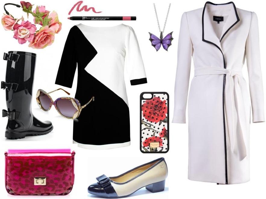 71c30ced6fbd09 Kalosze – Red Valentino/e-catwalk.pl, tunika – Midori Feminine Fashion
