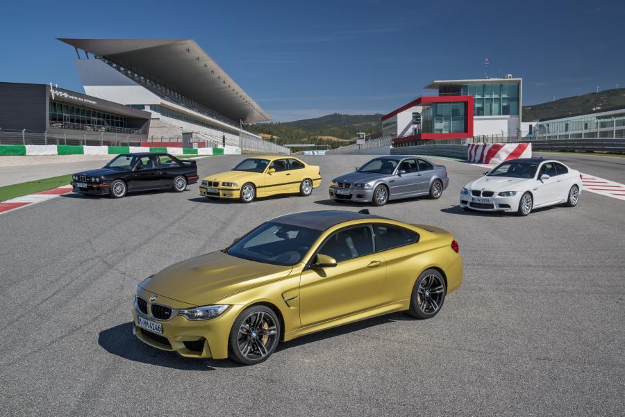 BMW M4 (złote)