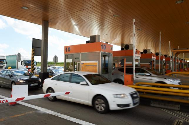 Otwarte bramki na autostradzie A1 w Rusocinie