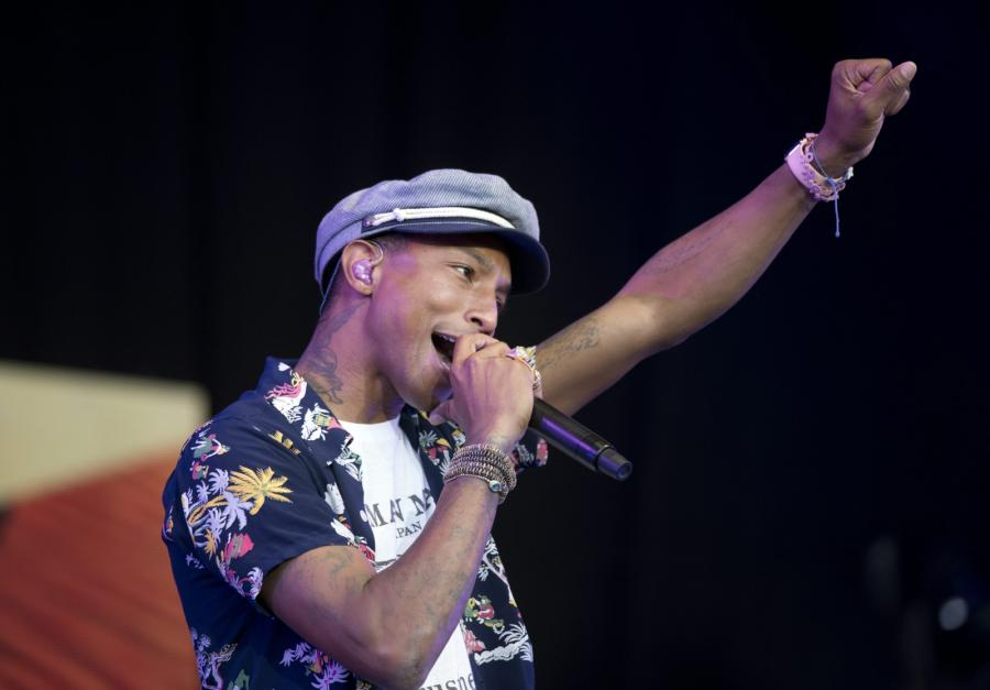 Pharrell Williams gra \