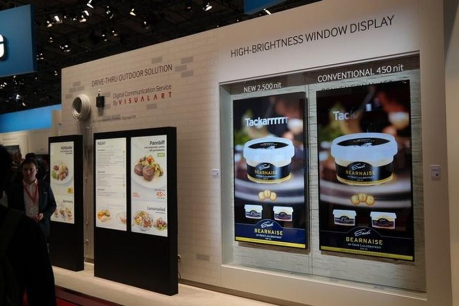 Nowe reklamowe monitory Samsunga