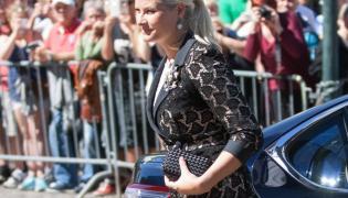 Księżna koronna Norwegii Mette-Marit