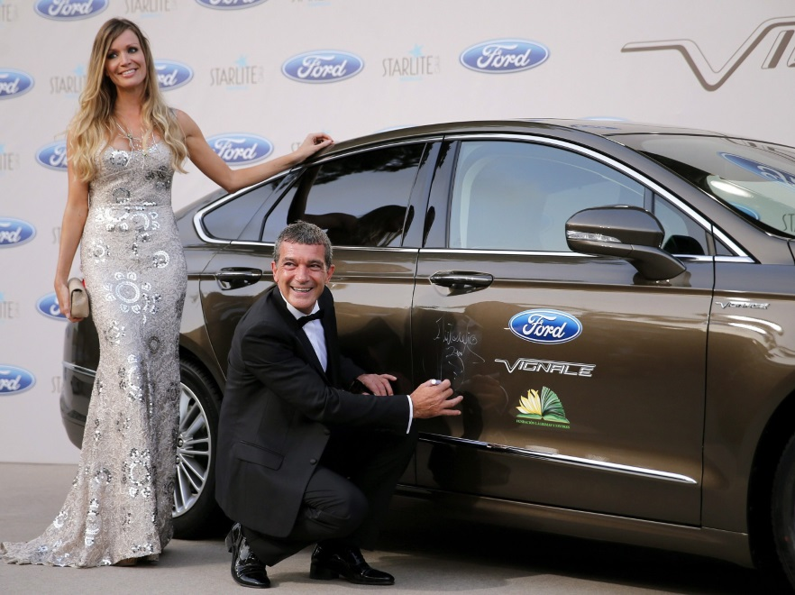 Nicole Kimpel i Antonio Banderas