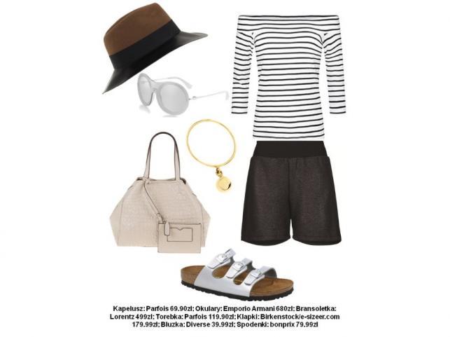 Minimalistyczne STYLIZACJE black&white na lato 2015