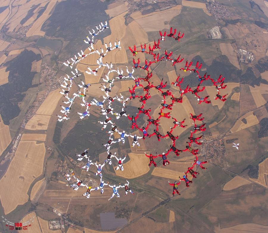 Rekord Polski spadochroniarzy