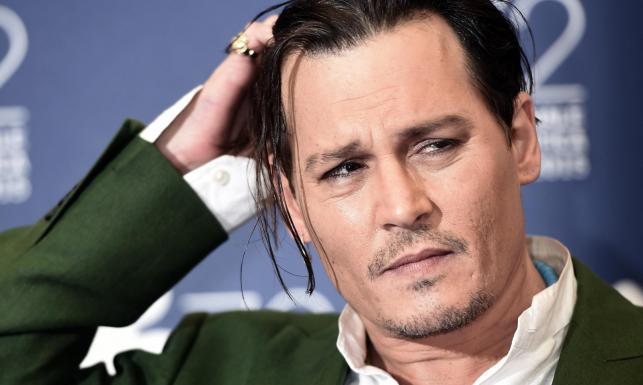 Johnny Depp tradycyjnie \