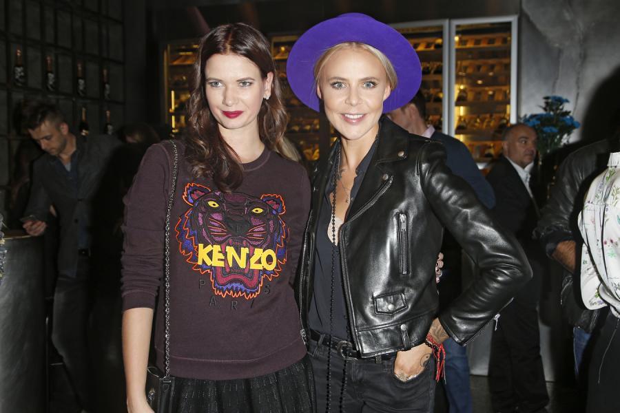 Karolina Malinowska i Maja Sablewska