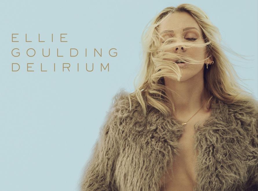Ellie Goulding na okładce albumu \