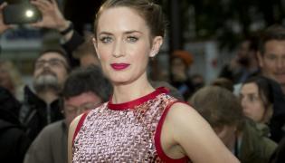 """Emily Blunt na premierze """"Sicario"""" w Londynie"""