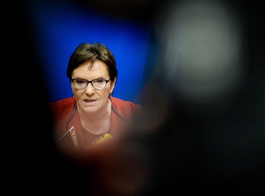 Ewa Kopacz na szczycie w Brukseli