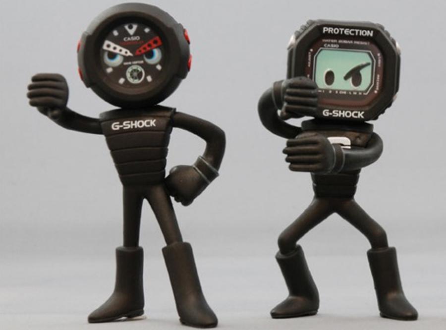 Zegarki-roboty na urodziny G-Shocka