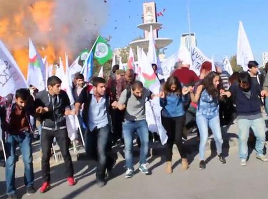 Zamach terrorystyczny w stolicy Turcji