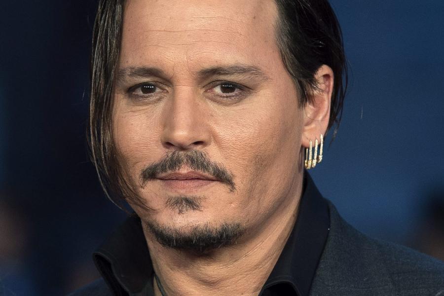 """Johnny Depp na premierze filmu """"Pakt z diabłem"""" w Londynie"""