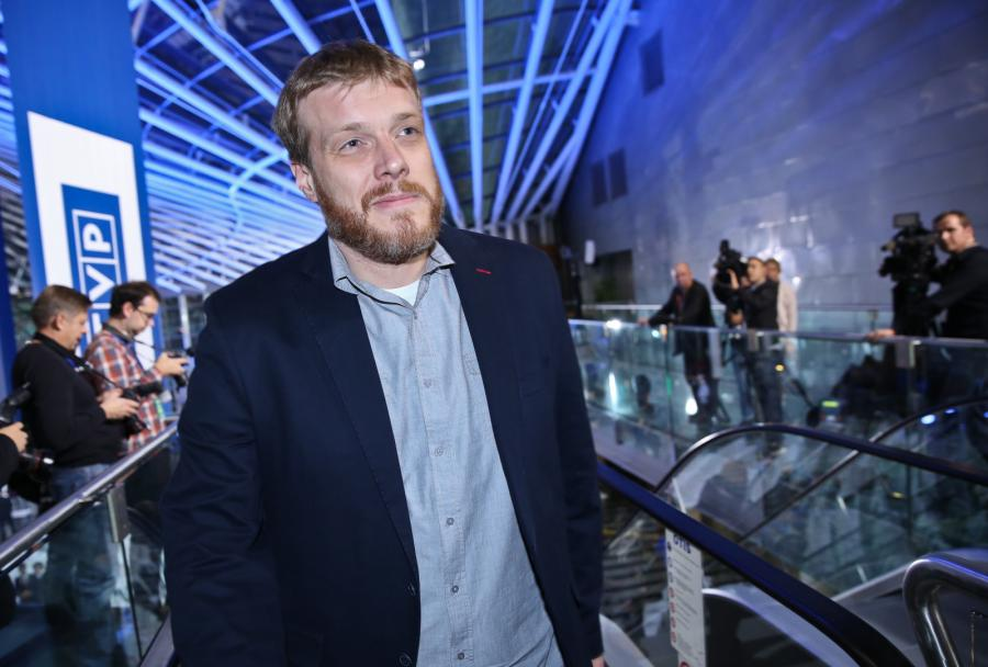 Jeden z liderów Rartii Razem Adrian Zandberg