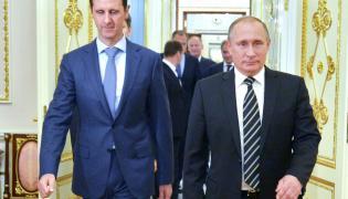 Baszar al-Asad i Władimir Putin