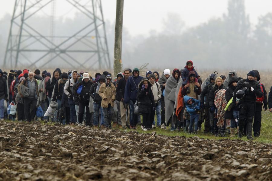 Imigranci na terenie Słowenii