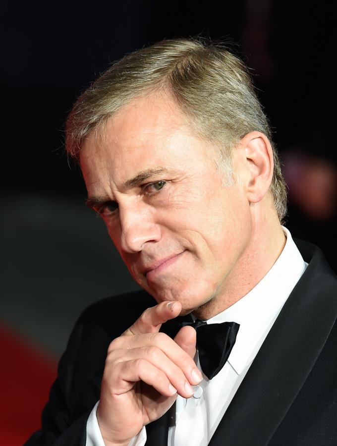 """Christoph Waltz na premierze """"Spectre"""" w Londynie"""